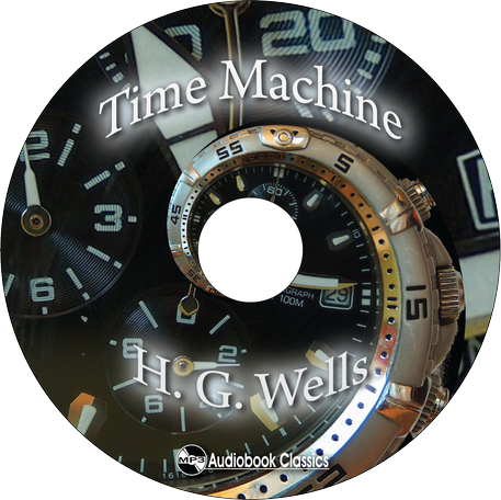 The Time Machine Unabridged Mp3 Cd Audiobook In Paper Sleeve Ebay